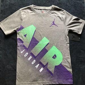 Nike Air Jordan Boys Shirt Sz M